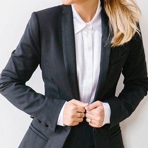 LC Lauren Conrad Tuxedo Blazer NWOT